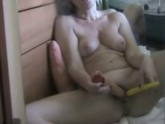 Mature Toying In Pussy
