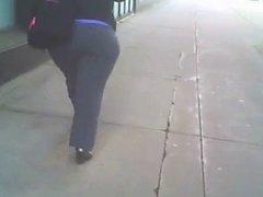 Sexy & Juicy BBW Latina Booty X 2 Walking on da Streets