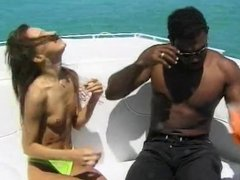Fucked on boat by BBC