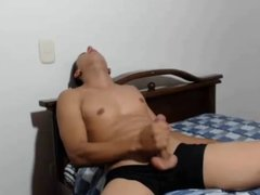 Hottest Str8 Colombian Boy With Monster Cock Cums,Bubble Ass