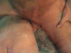 Slutty Granny Gets Hard Fucking With Cumshot
