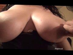 Big Nipples Pinched