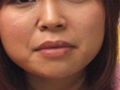 Japanese girl tongue play (2)