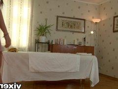 vixenx - Teen from Russia fucked on massage table