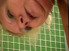 Hot Blonde Mature in Bath