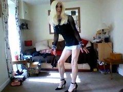 my lil black minidress 2
