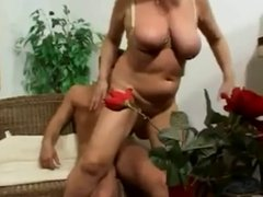 granny with big tits fucked