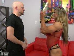 Maria G Wrestles Dante (softcore)