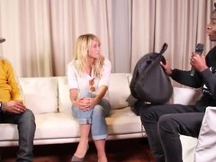 Enora Malagre interview Pharrell Williams