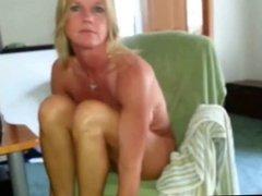 amateur blond wife