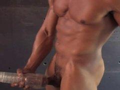 Hot black muscle guy