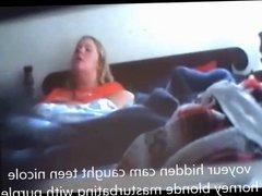 bbw horney mom has intense orgasm on spycam while rub clit