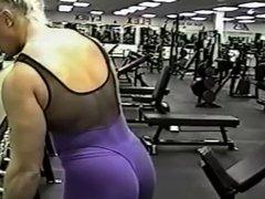Female bodybuilder Kim Ms Olympia