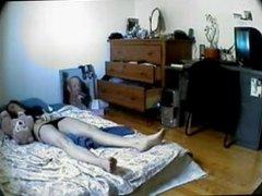 girl home alone
