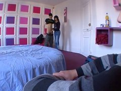 Fucked by a stranger in front of her boyfriend ! French amat