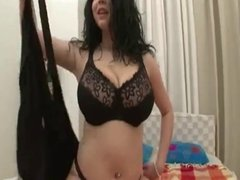 Busty Shione Cooper Blowjob