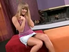 Russian teen loves double penetration