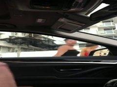 Masturbating in my car
