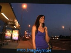 HornyAgent Sexy brunette loves my charm and money