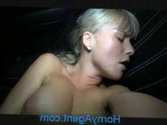 HornyAgent Beautiful blonde fucks me in my car