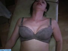 HornyAgent HD Amateur cam video with mature masseuse fuckin