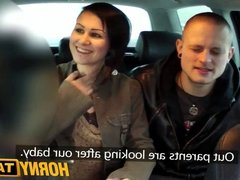 HornyTaxi I join horny married couple for an awesome threesom