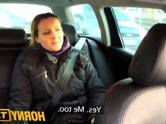 HornyTaxi First time anal virgin takes on big thick cock