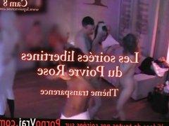 Camera espion en soiree privee ! French spycam297