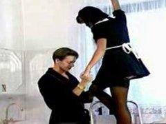 Slutty Maid Anita Blond