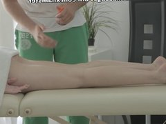 Man massages hot Raphael with mouth lips and cock