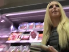 Amateur German Blonde Grocery Store and Car Anal POV xIJWHx