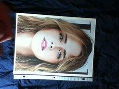 Emma Watson Cum Facial Tribute 2-14