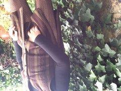 Outdoor wank x