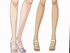 Hentai Bleach threesome with Yoruichi and Matsumoto