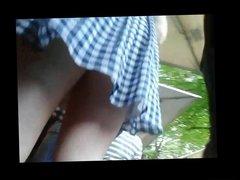 Teen Upskirt - awesome hot white ass