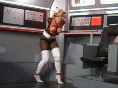 Bound captain of the spacecraft