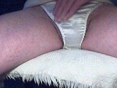 Playing in panties