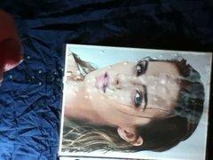 Emma Watson Cum Facial Tribute 2-15