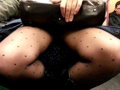 upskirt in train part 2