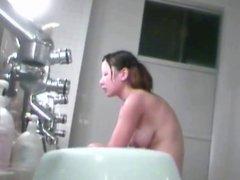 Voyeur - Japan. Skinny Girl with Big Hooters