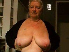 nice tits granny