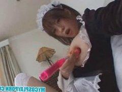 My Cosplay Porn - Busty japanese housekeeper fucked hard