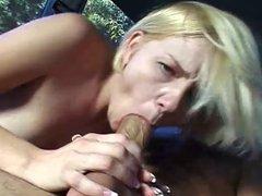 Missy fucks in a bus
