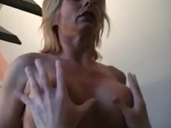 MILF Finishes Young Man With A Blowjob