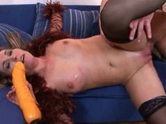 MILF with pumped pussy fisted and fucked