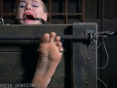 Foot Torture for a Pale Blonde