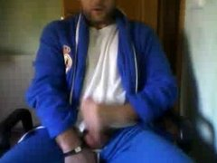 Straight guys feet on webcam #249