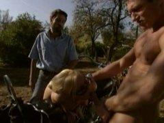 Gina Blonde, Pascal St. James & Steve Holmes.