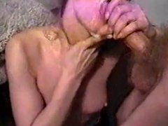 Slut girlfriend wants cum on face and mouth