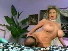 big natural breasts of blonde woman